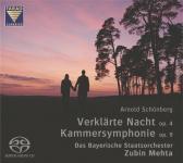 Arnold Schönberg: Verklärte Nacht op. 4 und Kammersymphonie op. 9 - SACD