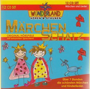 Märchenschatz - Original Hörspiele mit bekannten Sprechern - 12 CD Box!