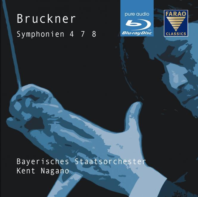 Bruckner Symphonien 4, 7, 8 - Blu ray-Audio